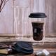 Tasse de voyage à paroi double «Coffee On The Go» par Luigi Bormioli