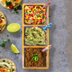 Pièces de service à tacos «Prepara»