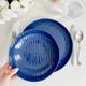 Vaisselle bleue Sophie Conran collection «Blue Oak»