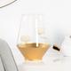 Bougeoir «Satin Gold» par Torre & Tagus
