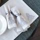 Linges de table et coussin collection«Winter Wonderland»