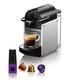 Machine à capsules Nespresso «Pixie» aluminium par Delonghi