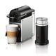 Machine à capsules Nespresso «Pixie» aluminium avec Aeroccino par Delonghi