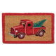 Paillasson «Red Truck with Tree»