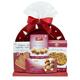 Panier-cadeaux «Assiette Rouge Festive»