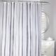 Rideau de douche en tissu«Watercolours Stripe»