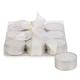 Ensemble de 9 bougies blanches «Glitter»