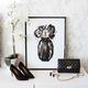 Cadre et illustration«Perfume Flower»