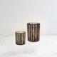 Porte-bougie en verre«Birch»par Torre & Tagus