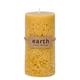 Bougie jaune«Earth»
