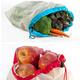 Ensemble de 5 sacs réutilisables pour fruits et légumes par Kitchenbasics