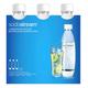 Ensemble de 3 bouteilles blanches de carbonatation « Source » par Sodastream