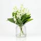 Vase avec muguets