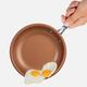 Poêle à frire antiadhésive MasterPan avec poignée en acier inoxydable