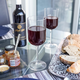 Enemble de 4 verres à vin rouge «Sublime» par Luigi Bormioli