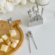 Ensemble de pic à fromage en forme de souris