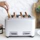 Grille-pain Breville quatre tranches «Smart Toaster»