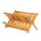 Égouttoir à vaisselle pliant en bambou par Danesco