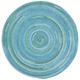 Waterway 0470CS400 7'6 inch Round Blue Braided Area Rug