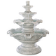 Henri Studio 54 inch High Quattro 4-Tier Outdoor Fountain