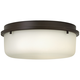Hinkley Turner 13 inch Wide Oil-Rubbed Bronze Ceiling Light