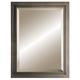 Hubbardton Forge Metra Bronze 21 3/4 inch x 27 3/4 inch Wall Mirror