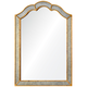 Huntington Antiqued Gold 36 inch x 42 inch Framed Wall Mirror