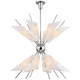 Cooper 32 1/4 inch Wide Polished Nickel 24-Light LED Chandelier