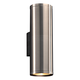 Marco 15 1/2 inch High Brushed Aluminum 2-LED Outdoor Wall Light