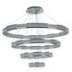 Maxim Eternity 39 3/4 inch Wide Polished Chrome LED Pendant Light
