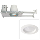 White 3 inch Airtight 8 Watt LED New Construction Recessed Kit