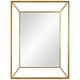 Wilton Gold Iron 30 inch x 40 inch Wall Mirror