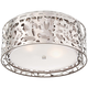 George Kovacs Layover 15 3/4 inch Wide Chrome Ceiling Light