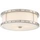 Flush Mounts 15 inch Wide Brushed Nickel Ceiling Light