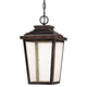 Irvington Manor 15 1/2 inch High Bronze LED Outdoor Hanging Light