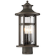 Highland Ridge 20 1/4 inch High Bronze Outdoor Post Light