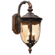 Bellagio 20 1/2 inch High Bronze Outdoor Wall Light w/ 6W LED Bulbs
