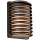 John Timberland® Bronze Grid 10 inch High LED Outdoor Wall Light