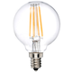 40W Equivalent Clear 4W LED Dimmable Candelabra G16.5 Bulb