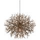 Sierra 32 inch Wide Distressed Bronze Pendant Light