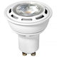 50W Equivalent White 6 Watt LED Dimmable GU10 Bi-Pin Bulb