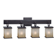 Corteo Collection Four Light Bath Light Fixture