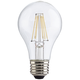 40W Equivalent Tesler Clear 4W LED Dimmable Standard Bulb