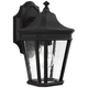 Feiss Cotswold Lane 11 1/2 inch High Black Outdoor Wall Light