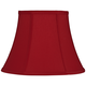 Red Morrell Bell Lamp Shade 7x12x9 (Spider)