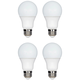 60W Equivalent Tesler 9W LED Dimmable Standard 4-Pack A Bulb