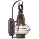 Galt 19 3/4 inch High Bronze Motion Sensor Rustic Outdoor Lantern Light