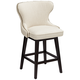 Ariana Sand Linen 25 1/2 inch Swivel Counter Stool