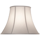 Pearl Supreme Satin Bell Lamp Shade 10x19x14 (Spider)