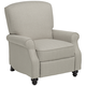 Ethel Barley Herringbone Push Back Recliner Chair